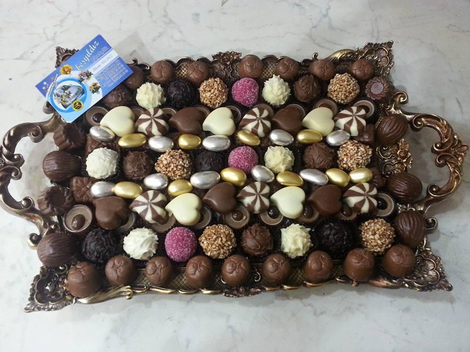 Aynalý Tepsili Pelit Çikolata