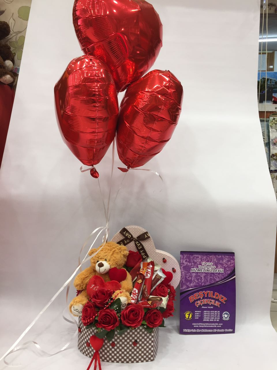 kalpli kutuda hediyeler