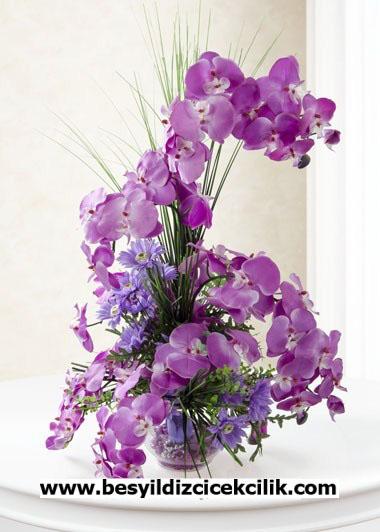 Yapay Orkide ve Kýr Çiçeði Ýle Saklý Duygular